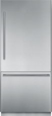 36 inch Pre-Assembled Built-In Bottom-Freezer with Masterpiece® Handles