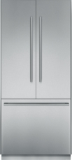 36 inch Pre-Assembled French Door Bottom Freezer with Masterpiece® Handles