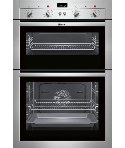 double oven stainless steel u14m42n3gb neff. Black Bedroom Furniture Sets. Home Design Ideas