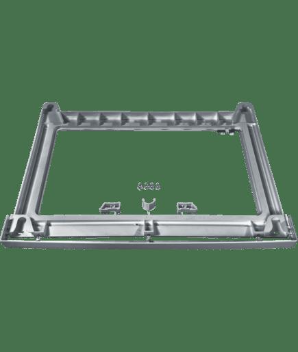 Kit superposition sans tablette silver wz11330 siemens - Kit de superposition avec tablette ...