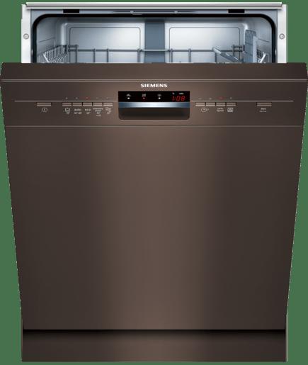 speedmatic speedmatic lavastoviglie 60cm sottopiano marrone scuro iq500 sn35l430eu siemens. Black Bedroom Furniture Sets. Home Design Ideas