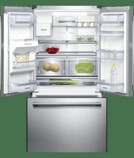 nofrost free standing refrigerator 3 door door color inox easyclean iq500 kf91npj20n. Black Bedroom Furniture Sets. Home Design Ideas