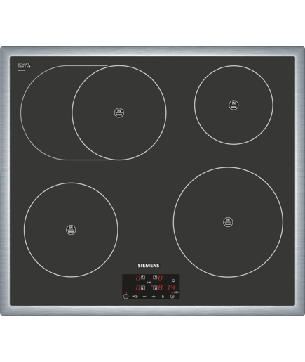 60 cm domino flex induction hob cooking zone ceramic. Black Bedroom Furniture Sets. Home Design Ideas