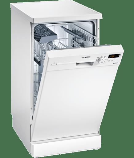 Lave vaisselle 45 cm pose libre blanc iq300 sr25e205eu siemens - Lave vaisselle pose libre sous plan de travail ...