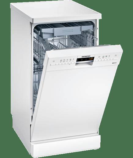 Lave vaisselle 45 cm pose libre blanc iq500 for Lave vaisselle pose libre sous plan de travail