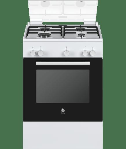 Cocina de gas blanco 3cgb462bq balay - Cocinas vitroceramicas de gas ...