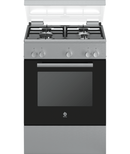 Cocina de gas acero inoxidable 3cgx462bq balay - Cocinas a gas natural ...