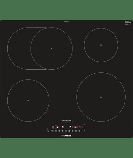 60 cm induktions kochfeld autark glaskeramik deep black edition studioline iq300 eh607ffb1e. Black Bedroom Furniture Sets. Home Design Ideas