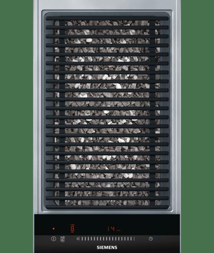 30 cm lava grill iq500 et375fub1e siemens - Plaque grill encastrable ...