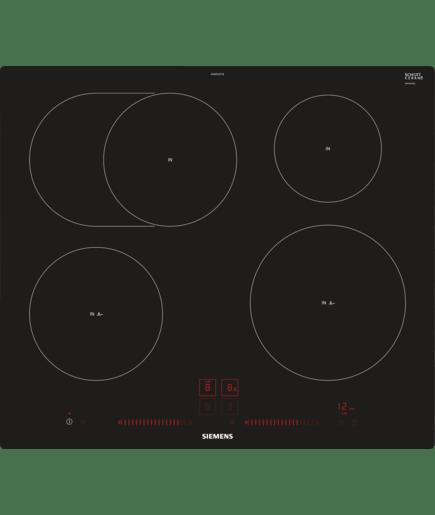 60 cm induktions kochfeld autark glaskeramik iq300 eh601lfc1e siemens. Black Bedroom Furniture Sets. Home Design Ideas