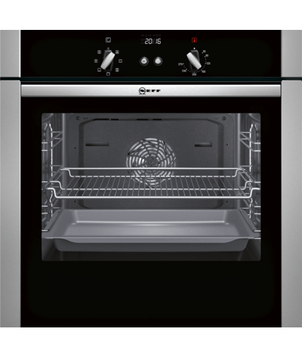 single oven stainless steel b44s52n5gb neff. Black Bedroom Furniture Sets. Home Design Ideas