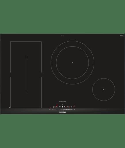 induktionskogesektion 80 cm comfortdesign iq500 ed877fsb1e siemens. Black Bedroom Furniture Sets. Home Design Ideas