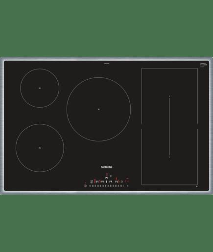 80 cm induktions kochfeld autark glaskeramik iq500 ed845fwb1e siemens. Black Bedroom Furniture Sets. Home Design Ideas
