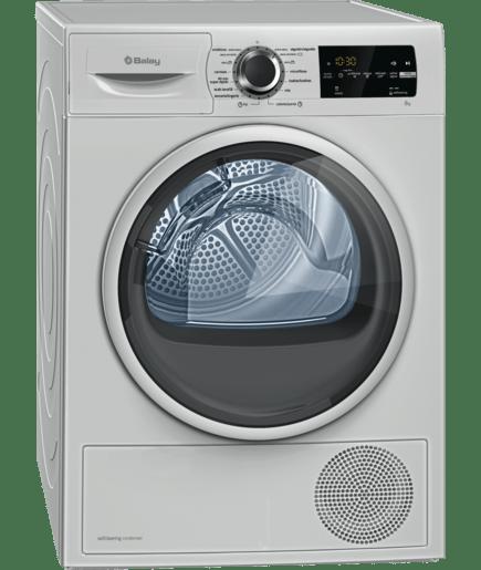 Secadora con bomba de calor acero mate antihuellas for Mueble lavadora carrefour