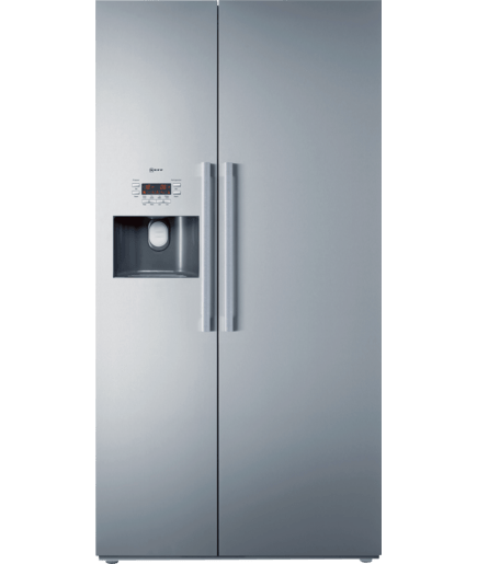 full frost free american style fridge freezer stainless steel k3990x7gb neff. Black Bedroom Furniture Sets. Home Design Ideas