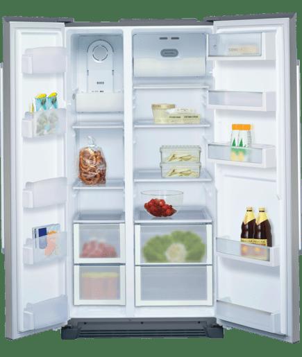 side by side fridge freezer full frost free iq300 ka56nv40ne siemens. Black Bedroom Furniture Sets. Home Design Ideas