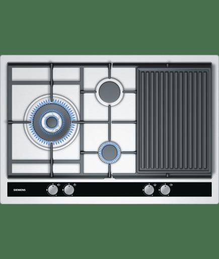 Placa de gas de 75 cm de ancho placa de acero inoxidable - Placa de cocina de gas ...