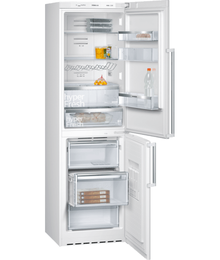 frigor fico combinado de libre instalaci n blanco 200 x 60 cm iq500 kg39naw22 siemens. Black Bedroom Furniture Sets. Home Design Ideas