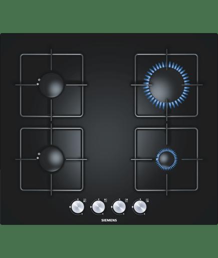 table de cuisson au gaz verre noir 60 cm iq500 ep616pb11e siemens. Black Bedroom Furniture Sets. Home Design Ideas