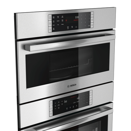 Introducing A Newly Designed And Engineered Bosch Combination Oven Featuring Sd Wall With Smooth Close Door