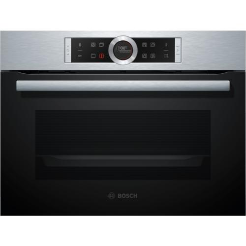Nos produits la cuisson fours fours compacts cbg675bs1 - Four compact encastrable ...