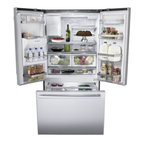 French Door Bosch Refrigerator Inspiring