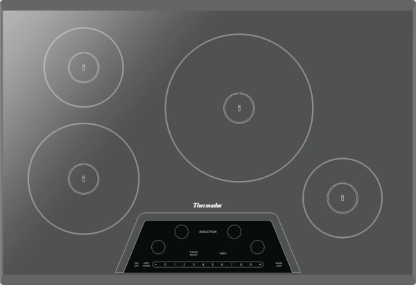Great 30 Inch Masterpiece® Series Induction Cooktop CIT304KM