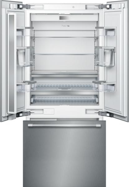 36   Inch Built In French Door Bottom Freezer