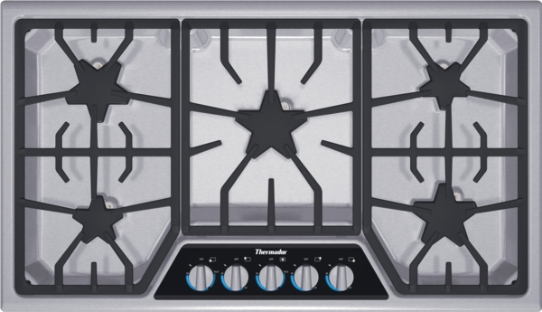 36 inch masterpiece series gas cooktop sgsx365fs