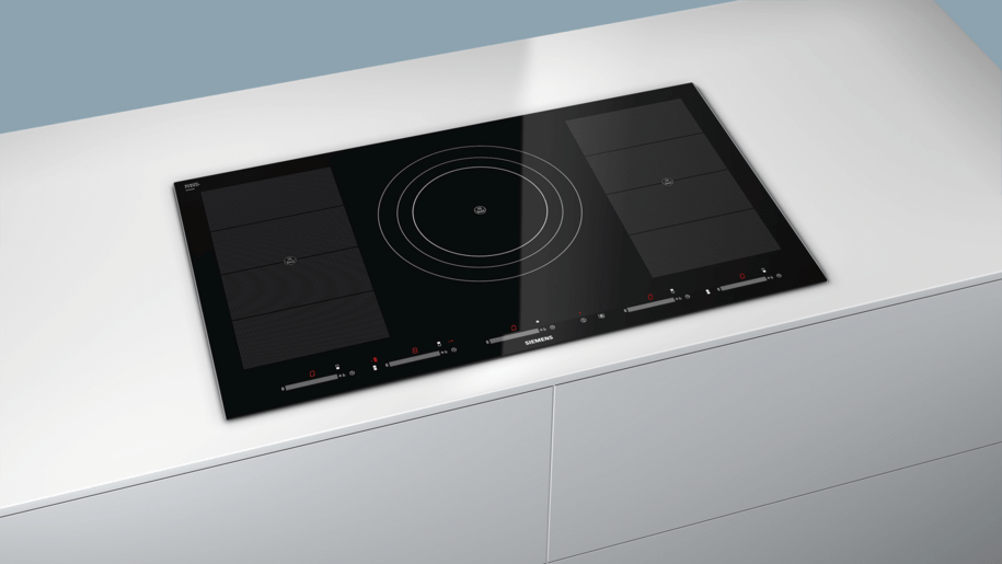 Siemens eh975sz11e 90 cm induction cooktop for Table induction 90 cm