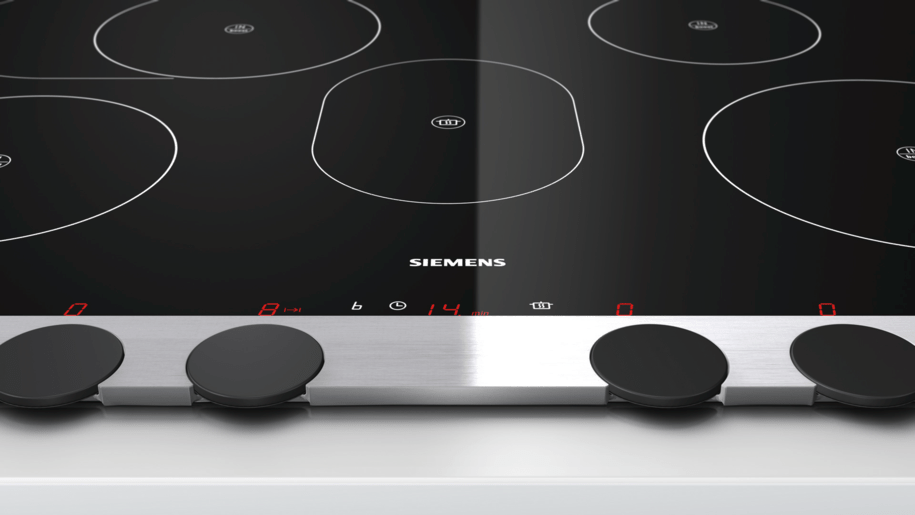 siemens eh885dc11e 80 cm domino flex induction hob cooking zone ceramic. Black Bedroom Furniture Sets. Home Design Ideas