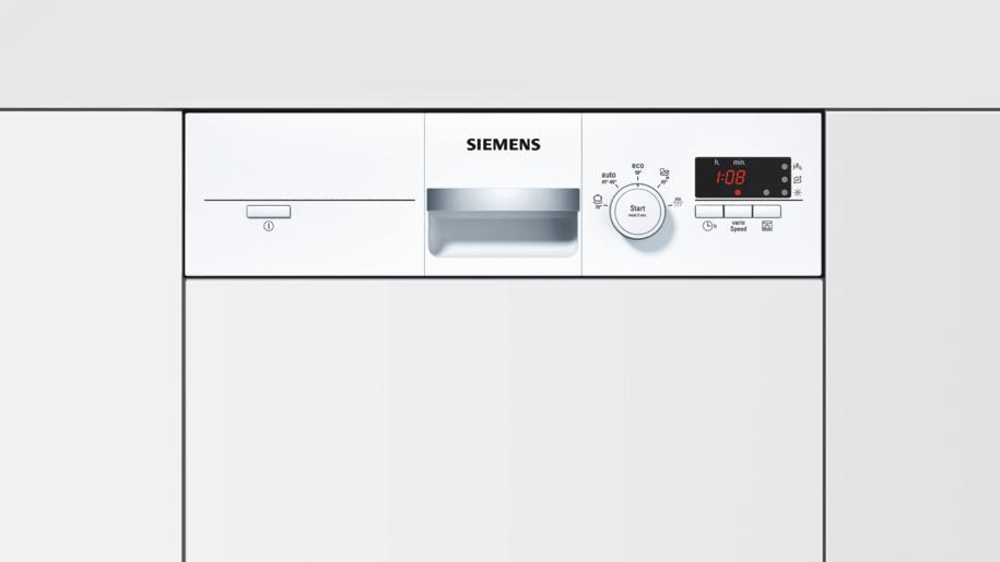 siemens sr55e202eu speedmatic45 geschirrsp ler 45 cm integrierbar wei. Black Bedroom Furniture Sets. Home Design Ideas