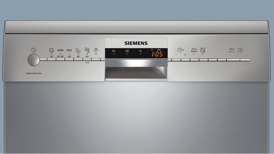 Siemens sn26m837gc speedmatic 60 cm dishwasher for Siemens speedmatic