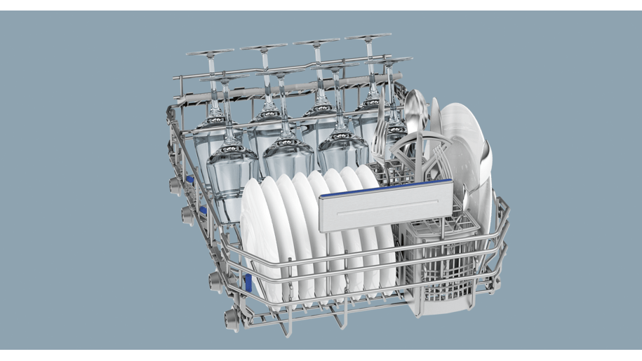 Siemens sr26t897eu lave vaisselle 45 cm pose libre silver inox - Lave vaisselle pose libre sous plan de travail ...