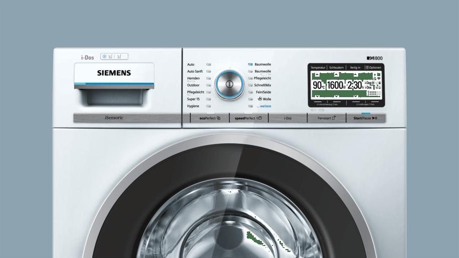siemens wm6yh840 waschmaschine. Black Bedroom Furniture Sets. Home Design Ideas