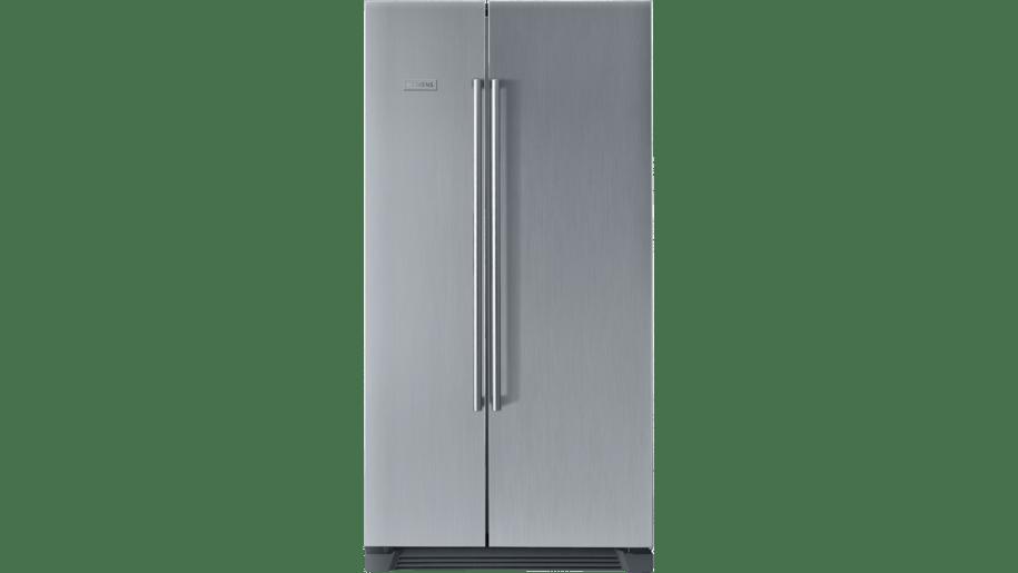 siemens ka56nv40ne side by side fridge freezer full. Black Bedroom Furniture Sets. Home Design Ideas