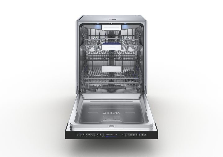 iQ700 Dishwasher 60cm , Semi-integrated, Zeolith energy efficient drying-1