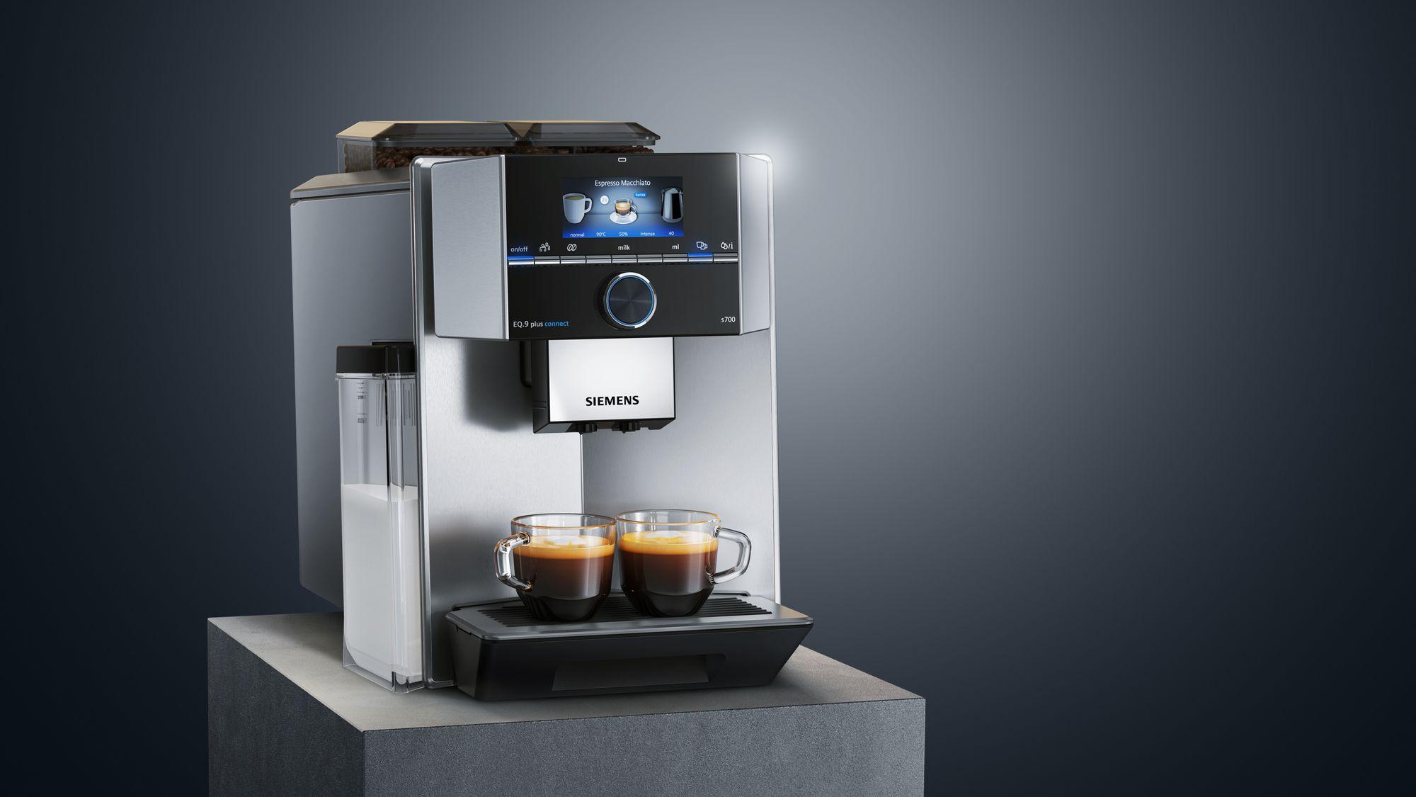 Kávovary EQ s mlynčekom Siemens