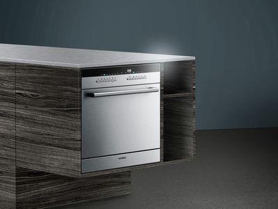 Ein Siemens Einbaugerät Als Modular Geschirrspüler Ist Ideal Für Kleine  Küchen Geeignet