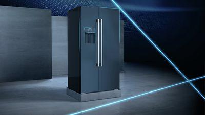 Siemens Kühlschrank Mit Display : Home connect kühlschrank siemens hausgeräte