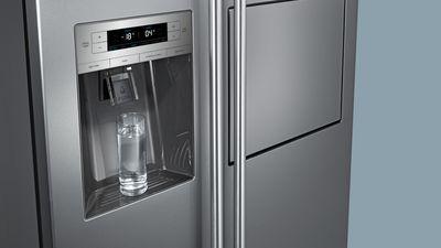 Siemens Kühlschrank Wasser Am Boden : Side by side kühlschränke Übersicht siemens hausgeräte