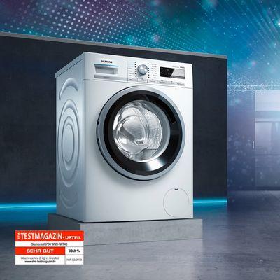 Bevorzugt Konnektivität von Waschmaschinen | Siemens Hausgeräte PQ61