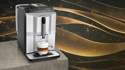 Kaffeevollautomat: klein, aber oho | Siemens Hausgeräte
