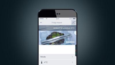 Siemens Kühlschrank Home Connect Einrichten : Smarte kühltechnik u mit home connect ins internet siemens