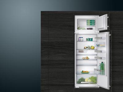 Einbau Kuhl Gefrier Kombination Integriertes Hightech Siemens