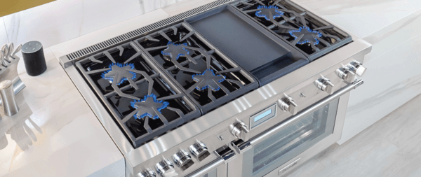 5 And 6 Burner Gas Ranges Thermador