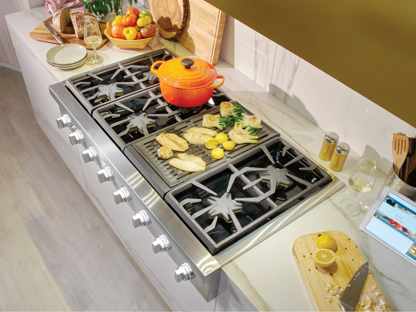 Gas Ranges With Grill Or Griddle