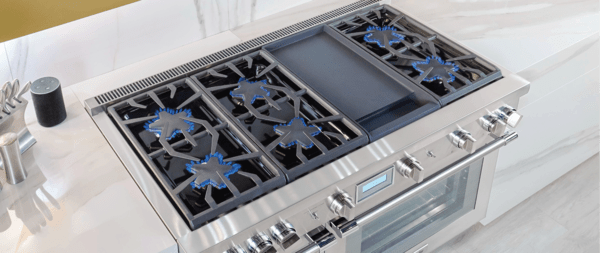 Gas Ranges With Grill Or Griddle Thermador