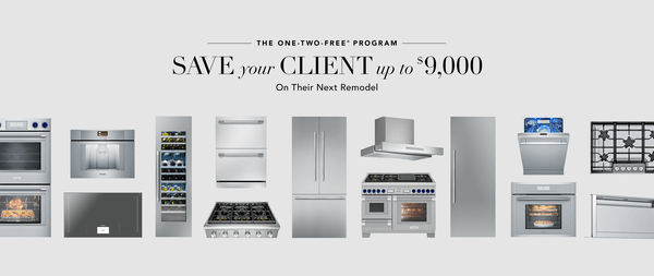 One Two Free Program Kitchen Remodel Appliance Package