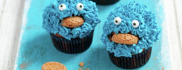 blaue monster muffins
